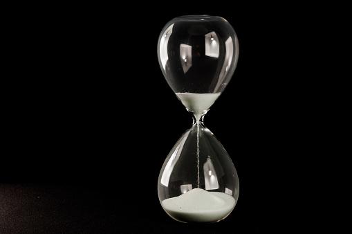 hourglass sandglass clock