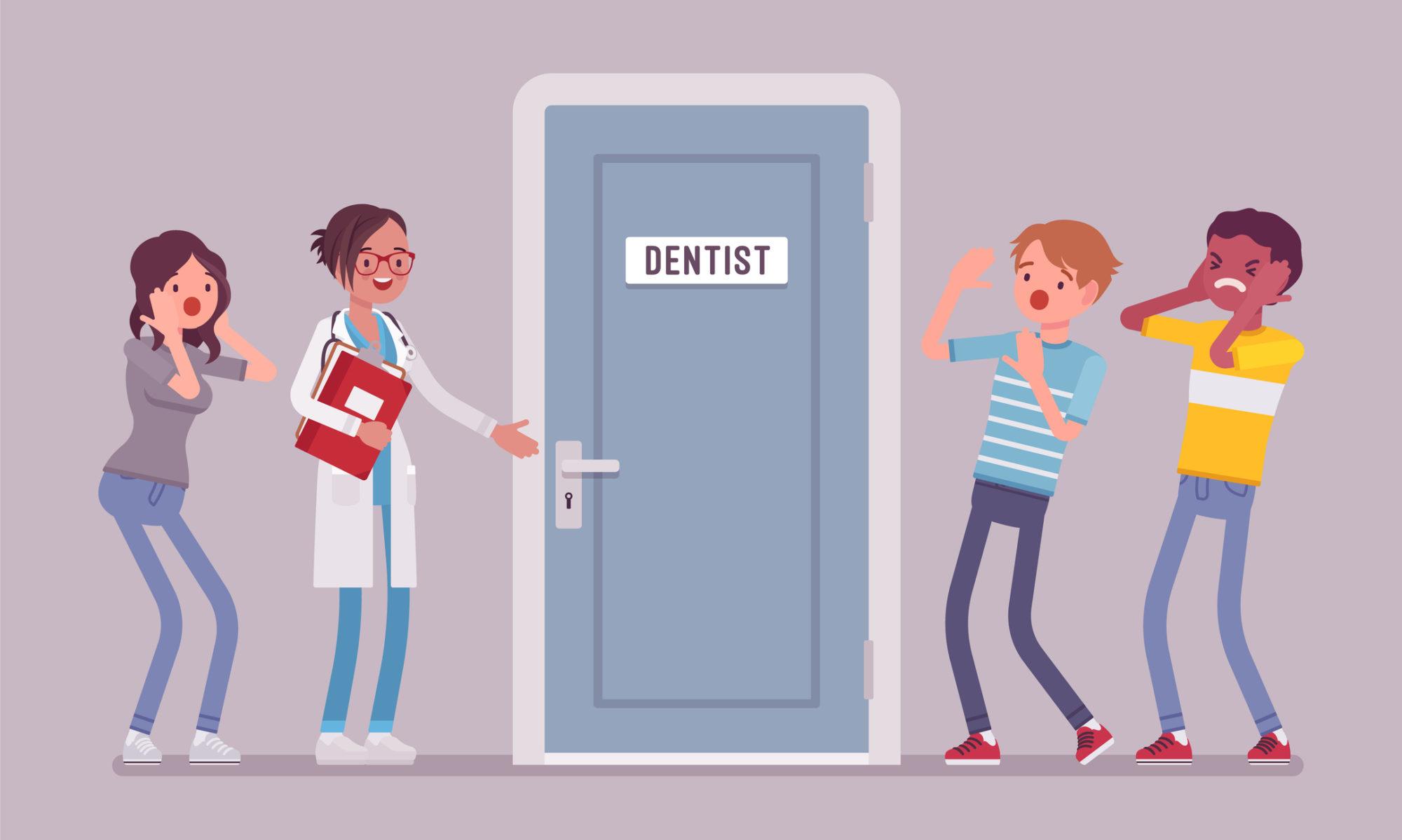 people afraid of the dentist