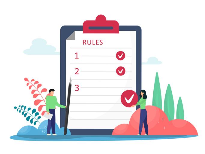 rules sheet