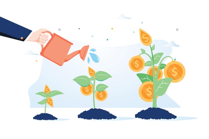 watering money trees