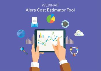 webinar alera cost estimator tool